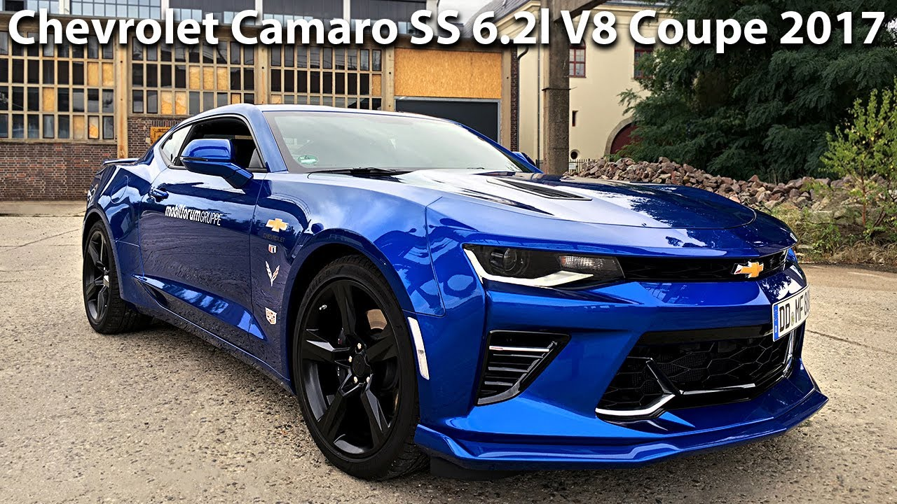 Chevrolet Camaro Ss 6 2 V8 2017 453hp Sound