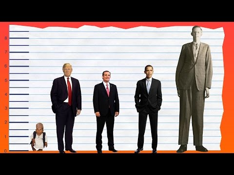 how tall is donald trump height comparison donald trump s