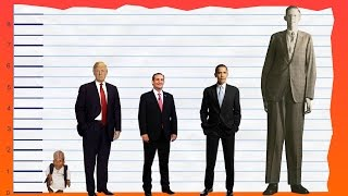 how tall is donald trump? height comparison