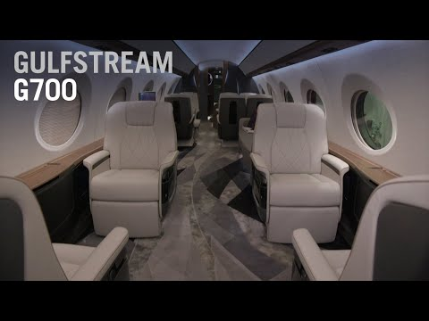 Take a Full Tour Throughout Gulfstream's new G700 Aircraft - AIN