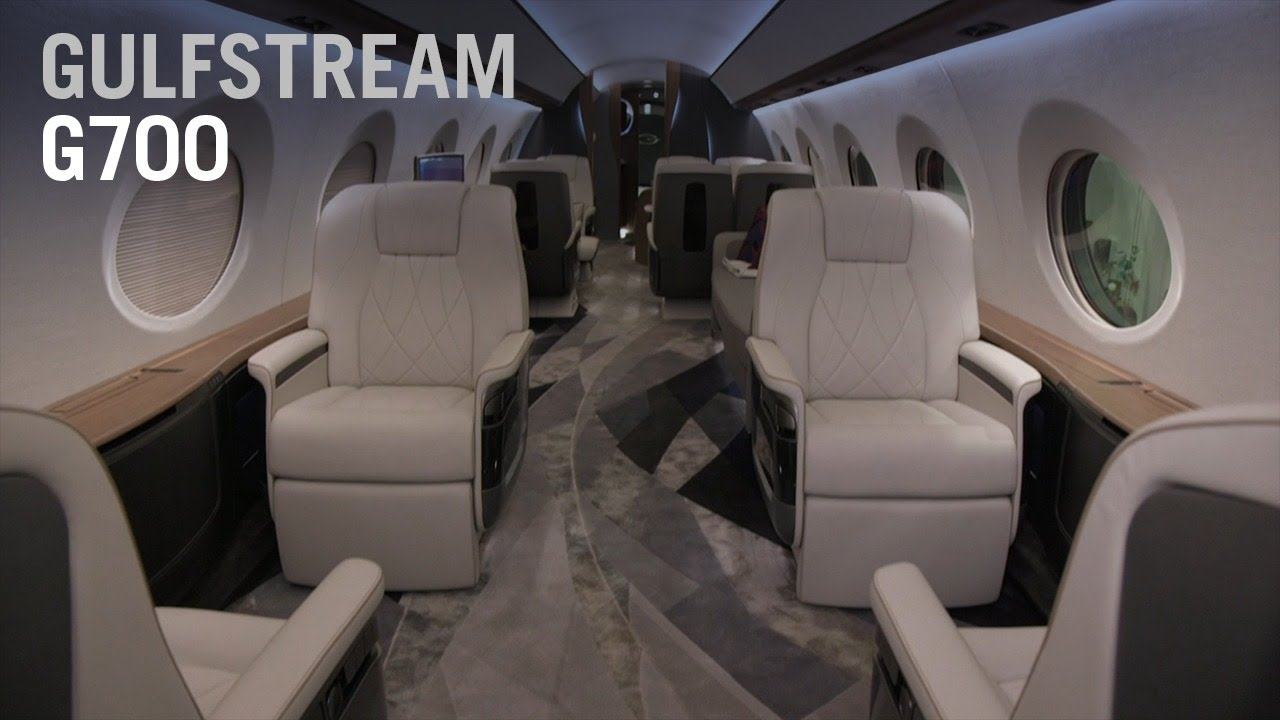 Take A Full Tour Throughout Gulfstream S New G700 Aircraft Ain