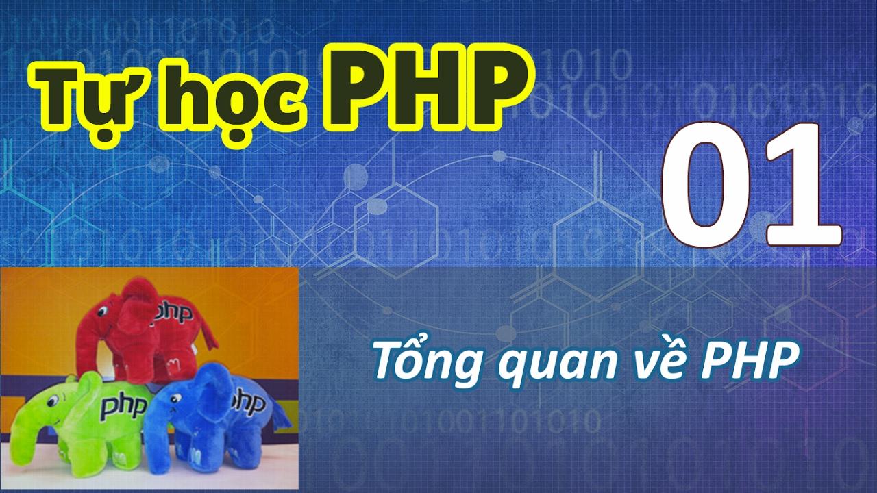 Tự học PHP – 01 Tổng quan về PHP