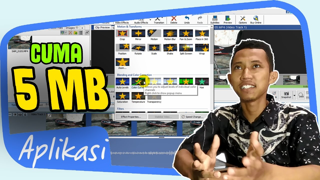 Aplikasi Buat Video Ringan