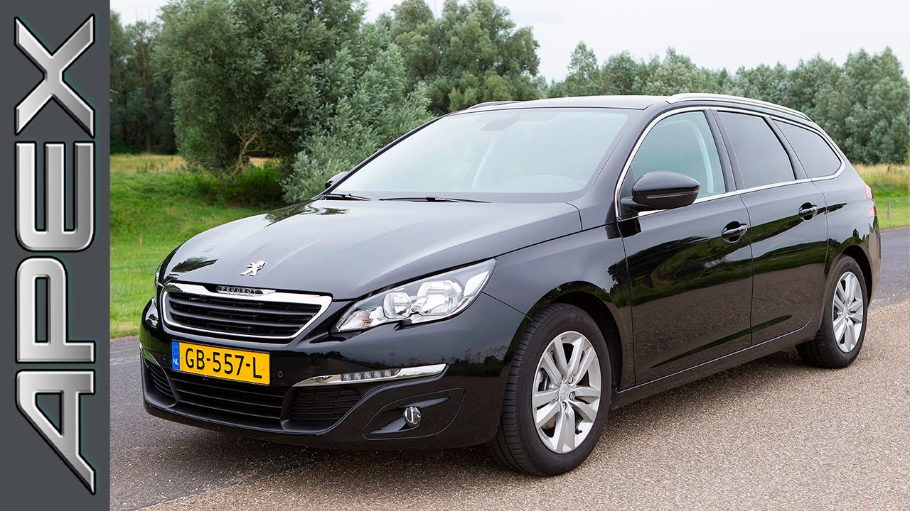 peugeot 308 sw 1.6 bluehdi 120 - review (2015) - youtube