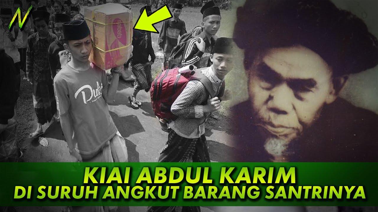 Kisah Kiai Abdul Karim Lirboyo Disuruh Calon Santri Angkut Barang