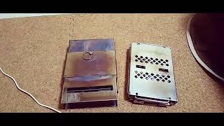 カマドB6型と比べる❗️使いやすい縦型ボックスストーブで焚き火チキン❗️レビュー‼️ thumbnail