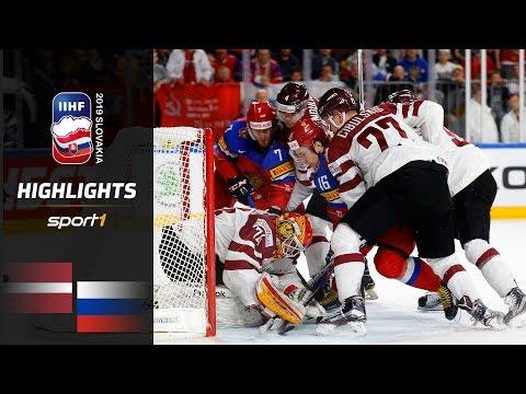 Russland Weiter Ungeschlagen: Lettland – Russland 1:3 | Highlights | IIHF Eishockey-WM 2019 | SPORT1