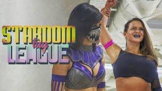 Kelly Klein & Bea Priestley debut en STARDOM vs AZM & Starlight Kid #WresRev