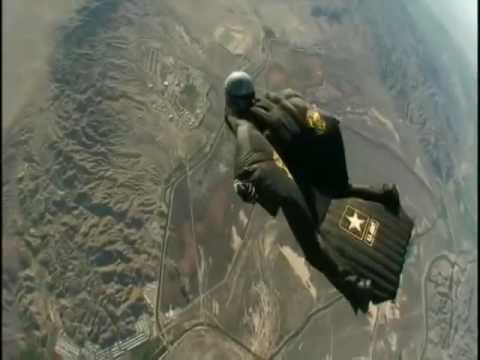 New wing suit world record youtube - Military wingsuit ...