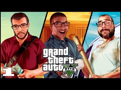 GTA V (PS4) - Episodio 1 - Mah Nigga