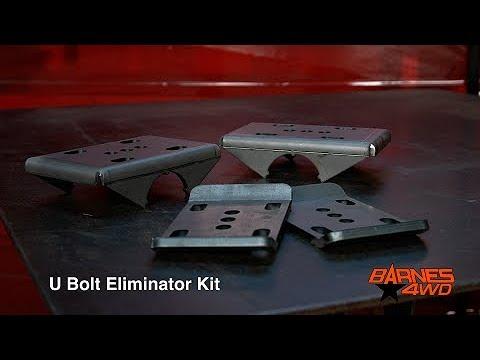 U Bolt Eliminator Kit