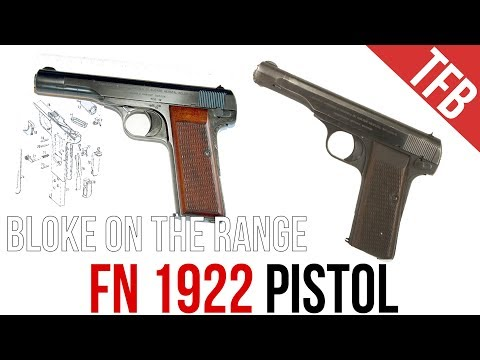 The FN 1922 Pistol - A Successful or
