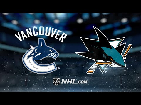 Labanc scores in OT as Sharks beat Canucks, 5-4