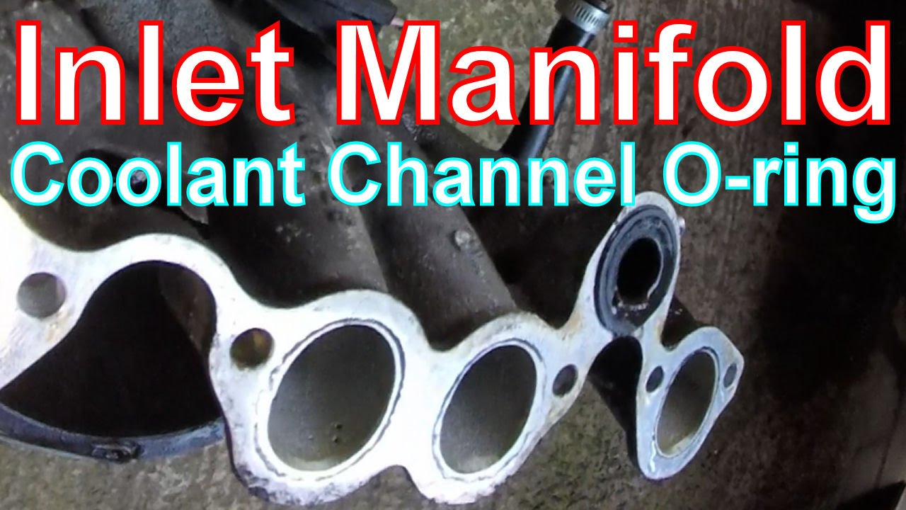 How to Remove air Inlet Manifold & o-ring on a VW Golf Mk2 ...
