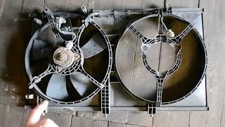 Замена подшипника вентилятора охлаждения Lancer 9