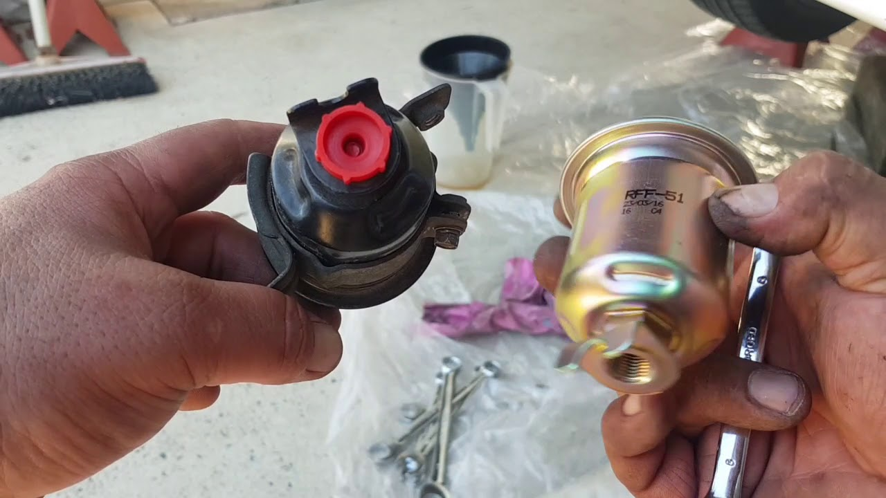 small resolution of mitsubishi lancer ce 4g93 fuel filter replacement