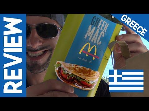 McDonald's Greece: Greek Mac Review