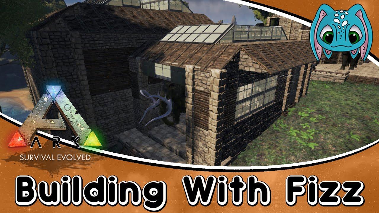 Ark survival evolved building w fizz modern style for Modern house ark