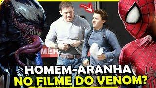 Como assim!? Homem-Aranha VAI ESTAR no filme do VENOM?!