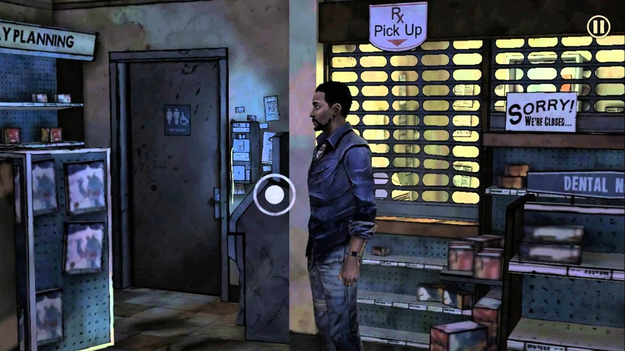 Playing HD Games On Google Android One: The Walking Dead (Season One) Part  2 - YouTube