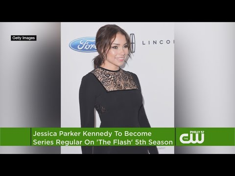 'The Flash's' Jessica Parker Kennedy Is Now A Series Regular