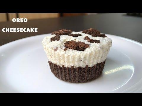 No Bake Mini Oreo Cheesecake | Oreo Cheesecake | Mini Cheesecake