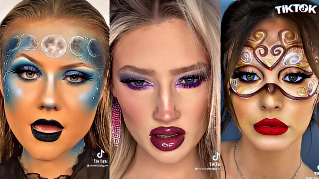 "I be like ""Ha, ha, ha, ha"" Make-up Transformation | TikTok Compilation"