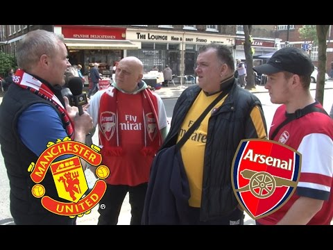Pranking Arsenal and Man United Fans With Fake Players