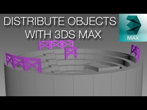 3ds max how to put a hole in an object