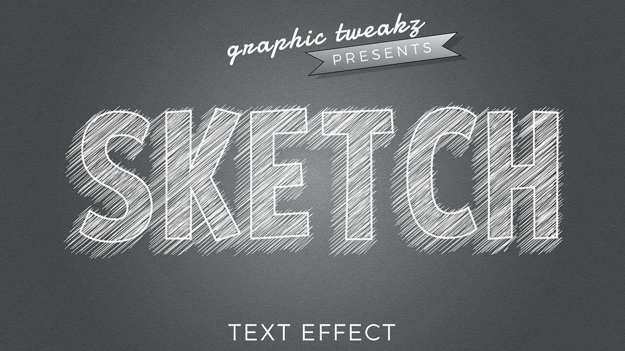 Pencil Sketch Effect In Illustrator