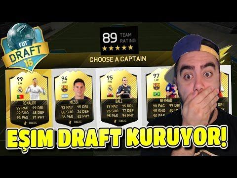EŞIM 89 REYTING YAPTI!!! - FIFA 16 FUT DRAFT