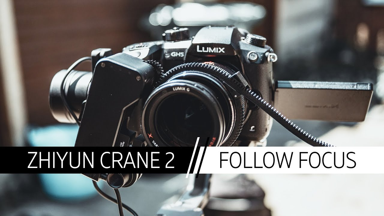 Zhiyun Crane 2 With Servo Follow Focus Micro Four Thirds Youtube 3 Axis Stabilizer Fokus For Mirorrles Dslr