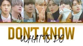 How Would BTS Sing Dont' Know What To Do by BLACKPINK (FANAMDE)