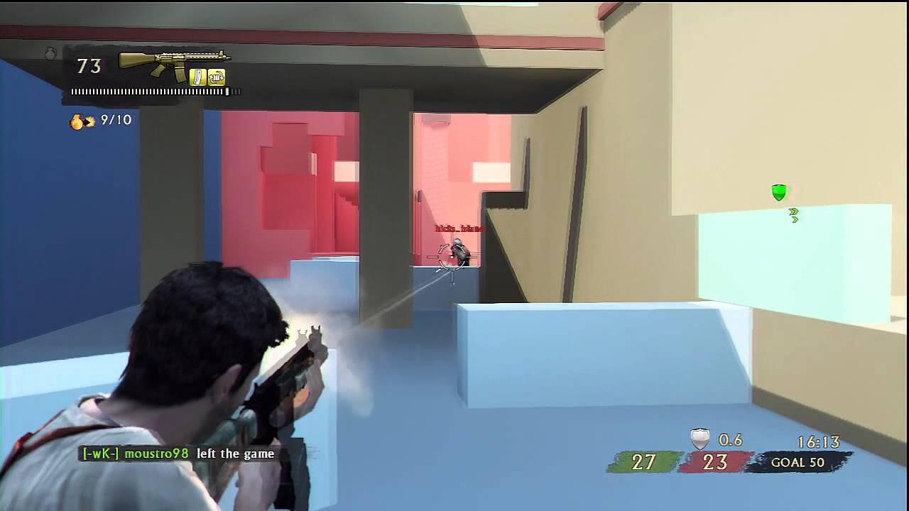 todella söpö ensiluokkainen uusi tuote Uncharted 3 NEW Block Mesh Maps Gameplay!