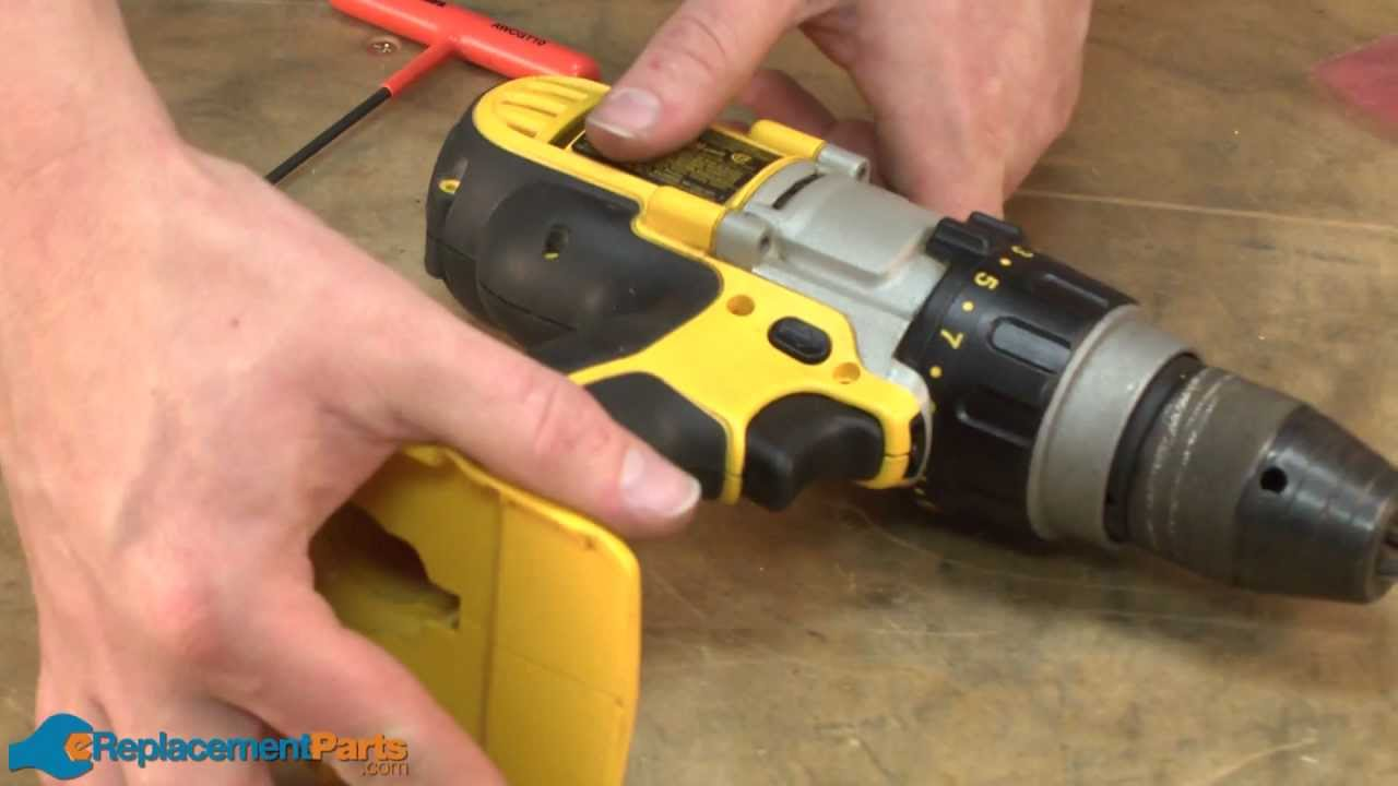 How To Replace The Switch On A Dewalt Dcd950 Cordless Drill Youtube Ryobi Ry30240 Parts List And Diagram Ereplacementpartscom