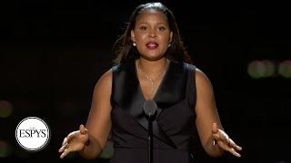 Maya Moore's speech at the 2021 ESPYS