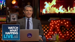 Andy Cohen Dishes On Cheap Dates | Dear Andy | WWHL