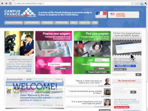 Welcome to the new CampusFrance USA website!
