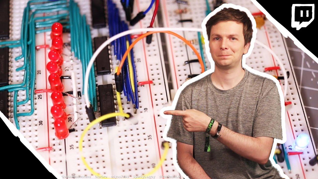 Building an 8-Bit Computer From Scratch