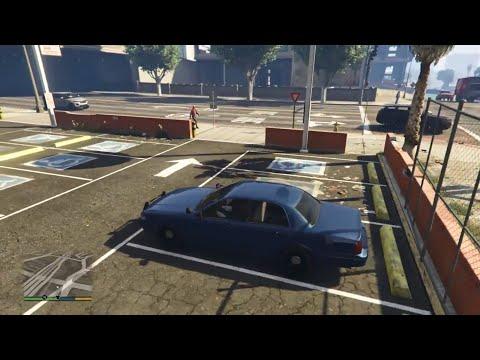 GTA V - Rare Undercover Cop Car In First Person (PS4)