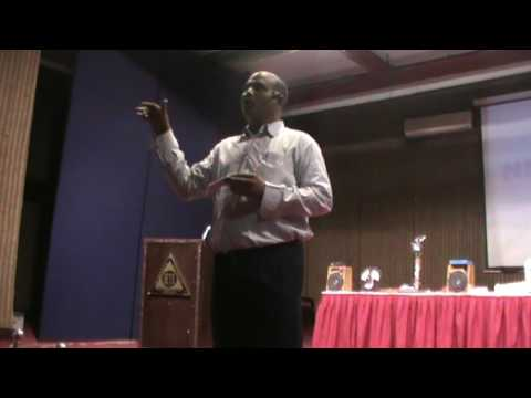 Scientific Srinivas's Demonstration at National Convention On Alternative Energy Hyderabad