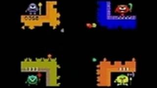 Retro Atari Classics Nintendo DS Gameplay - Warlords