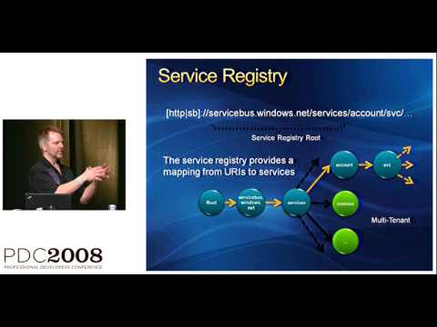 PDC 2008 Architecture of the  NET Services