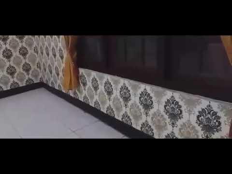Tutorial Pemasangan Wallpaper Sticker Dinding