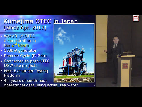 Challenges for Ocean Thermal Energy Conversion (OTEC) in Japan