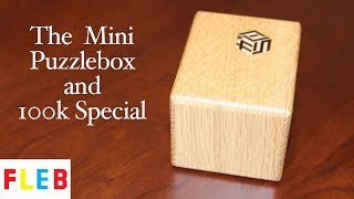 The Mini Puzzle Box is a beautiful puzzlebox from the Karakuri group in Japan. It