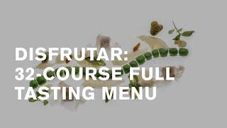 Disfrutar, Barcelona: 32-course tasting menu [2 Michelin stars]