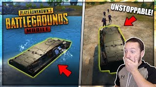NEW BRDM-2 TANK IS UNSTOPPABLE!! EASIEST WIN EVER! - PUBG MOBILE