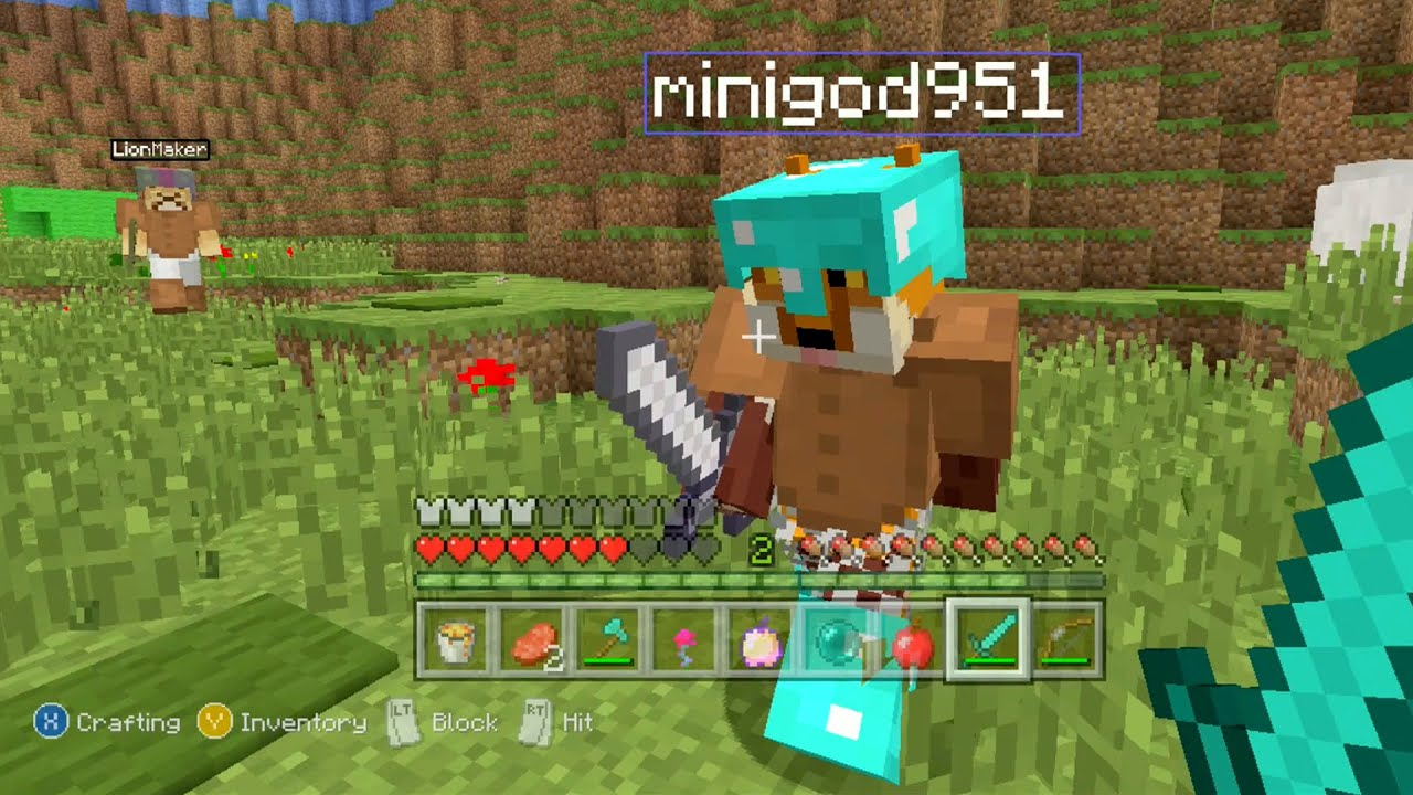 Minecraft Xbox - Mario Universe Hunger Games - YouTube