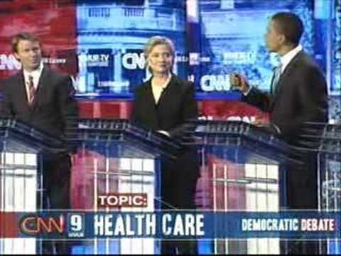2007 NH Democratic Presidential Debate (Part 8)